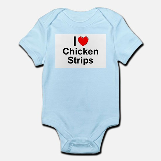 Chicken Strips Infant Bodysuit