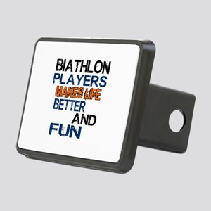 Biathlon Players Makes Lif Rectangular Hitch Cover