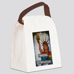 Expect Resistance Canvas Lunch Bag