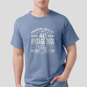VINTAGE DUDE AGED 40 YEARS T-Shirt