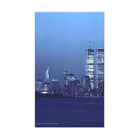 NYC Rectangle Sticker