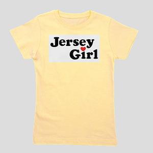 Jersey Girl Ash Grey T-Shirt