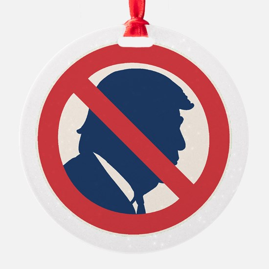 Anti President Trump Ornament