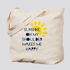 Sunshine on My Shoulder Tote Bag