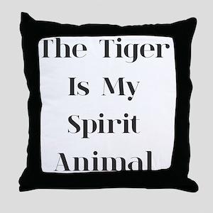 Tiger Spirit Throw Pillow