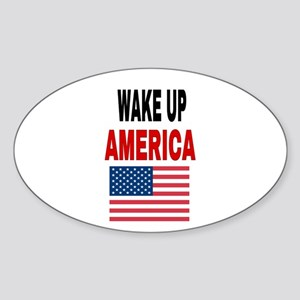 WAKE UP AMERICA Sticker