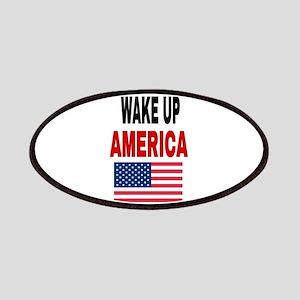 WAKE UP AMERICA Patch