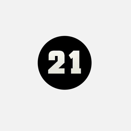 21 (in memory of) Mini Button