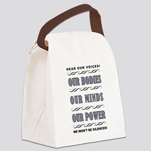 OUR BODIES... Canvas Lunch Bag