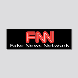 Fake News Network Car Magnet 10 x 3