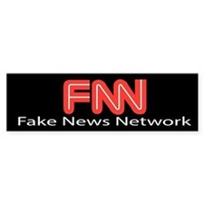 Fake News Network Sticker (Bumper)
