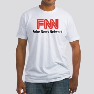 Fake News Network Fitted T-Shirt