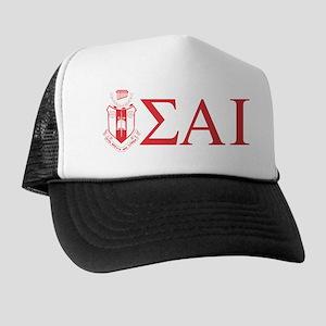 Sigma Alpha Iota Letters Crest Trucker Hat