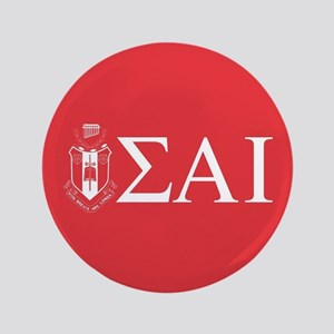 Sigma Alpha Iota Letters Crest Button