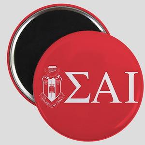 Sigma Alpha Iota Letters Crest Magnet