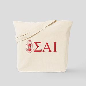 Sigma Alpha Iota Letters Crest Tote Bag