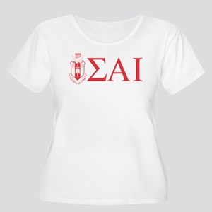 Sigma Alpha I Women's Plus Size Scoop Neck T-Shirt
