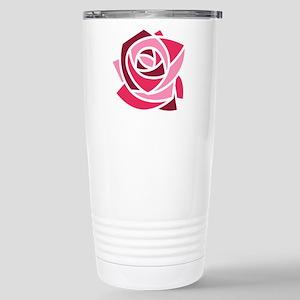 Kappa Delta Chi Rose Stainless Steel Travel Mug