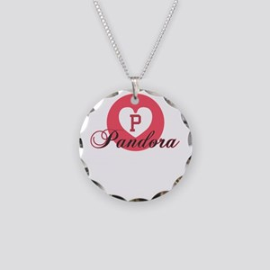 pandora Necklace Circle Charm
