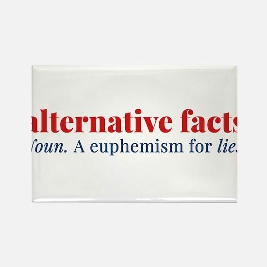 Alternative facts: a euphemism for lies Magnets