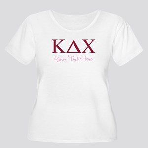 Kappa Delta C Women's Plus Size Scoop Neck T-Shirt