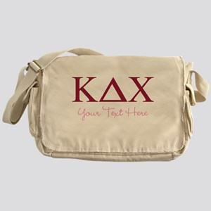 Kappa Delta Chi Personalized Messenger Bag