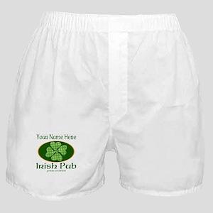 Irish Pub Boxer Shorts