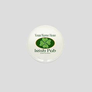 Irish Pub Mini Button