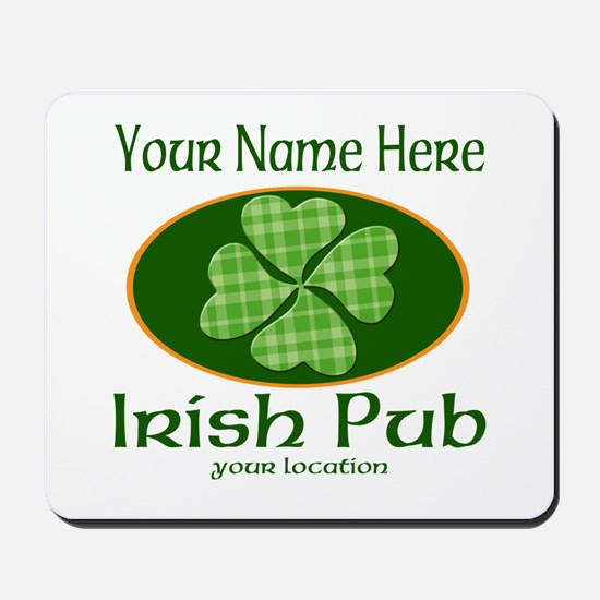 Irish Pub Mousepad