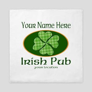 Irish Pub Queen Duvet