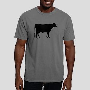Cow: Black Mens Comfort Colors Shirt