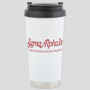 Sigma Alpha Iota Stainless Steel Travel Mug
