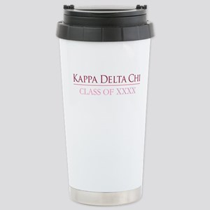 Kappa Delta Chi Class Stainless Steel Travel Mug