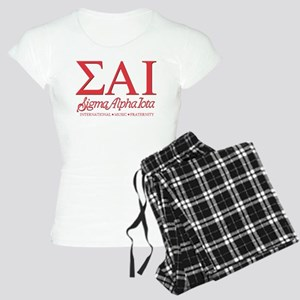 Sigma Alpha Iota Letters Women's Light Pajamas
