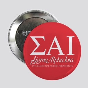 """Sigma Alpha Iota Letters 2.25"""" Button (100 pack)"""