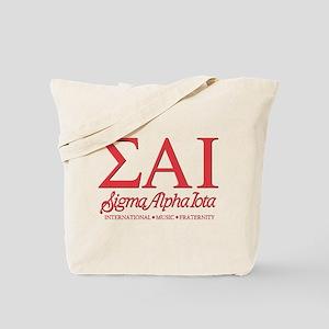 Sigma Alpha Iota Letters Tote Bag