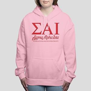 Sigma Alpha Iota Letters Women's Hooded Sweatshirt