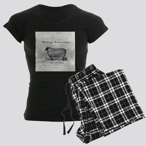 farm animal sheep farmhouse Pajamas