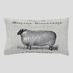 farm animal sheep farmhouse Pillow Case