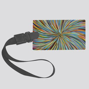 We Spoke of Color by Michelle Ly Large Luggage Tag
