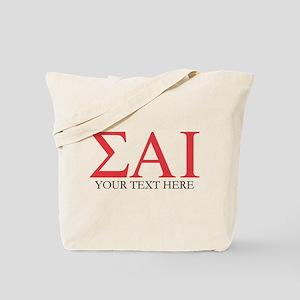 Sigma Alpha Iota Letters Personalized Tote Bag