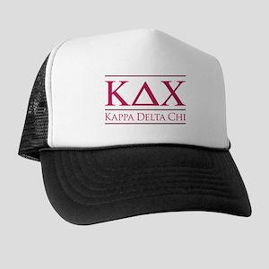Kappa Delta Chi Logo Trucker Hat