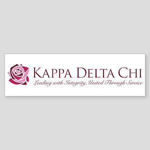 Kappa Delta Chi Sticker (Bumper)