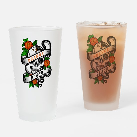 OITNB Skull Drinking Glass