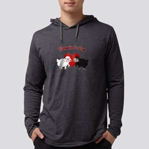 Valentines day - Sheep Long Sleeve T-Shirt