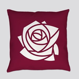Kappa Delta Chi Rose Everyday Pillow