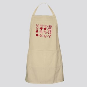 Valentine's Day Love Equation Apron