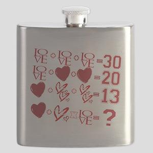Valentine's Day Love Equation Flask