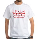 Mac Attack White T-Shirt