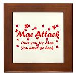 Mac Attack Framed Tile